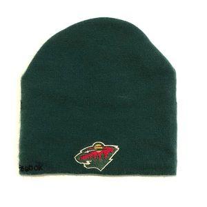 Minnesota Wild Goalie Mask Kids Winter Hat